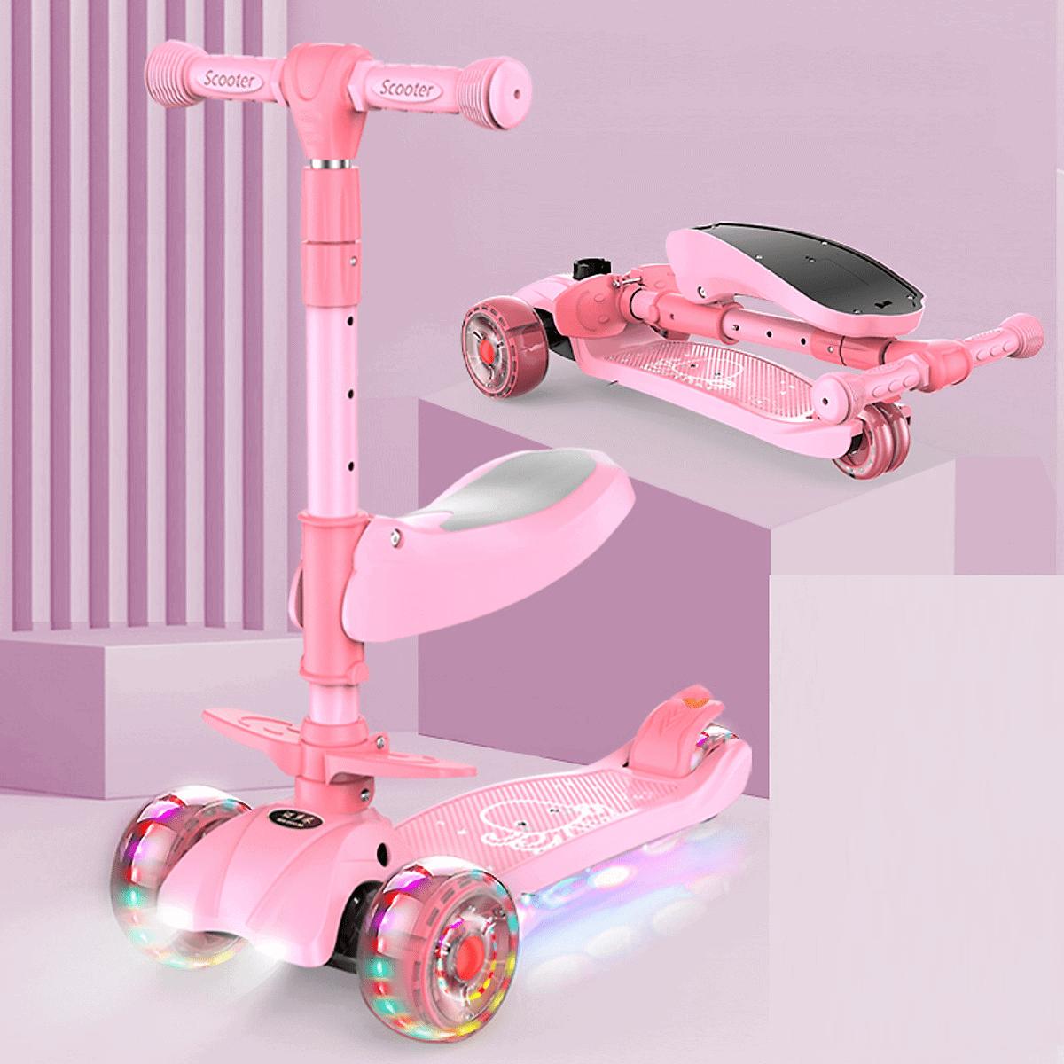Đồ chơi xe trượt Scooter 3 bánh cho trẻ em 5 tuổi