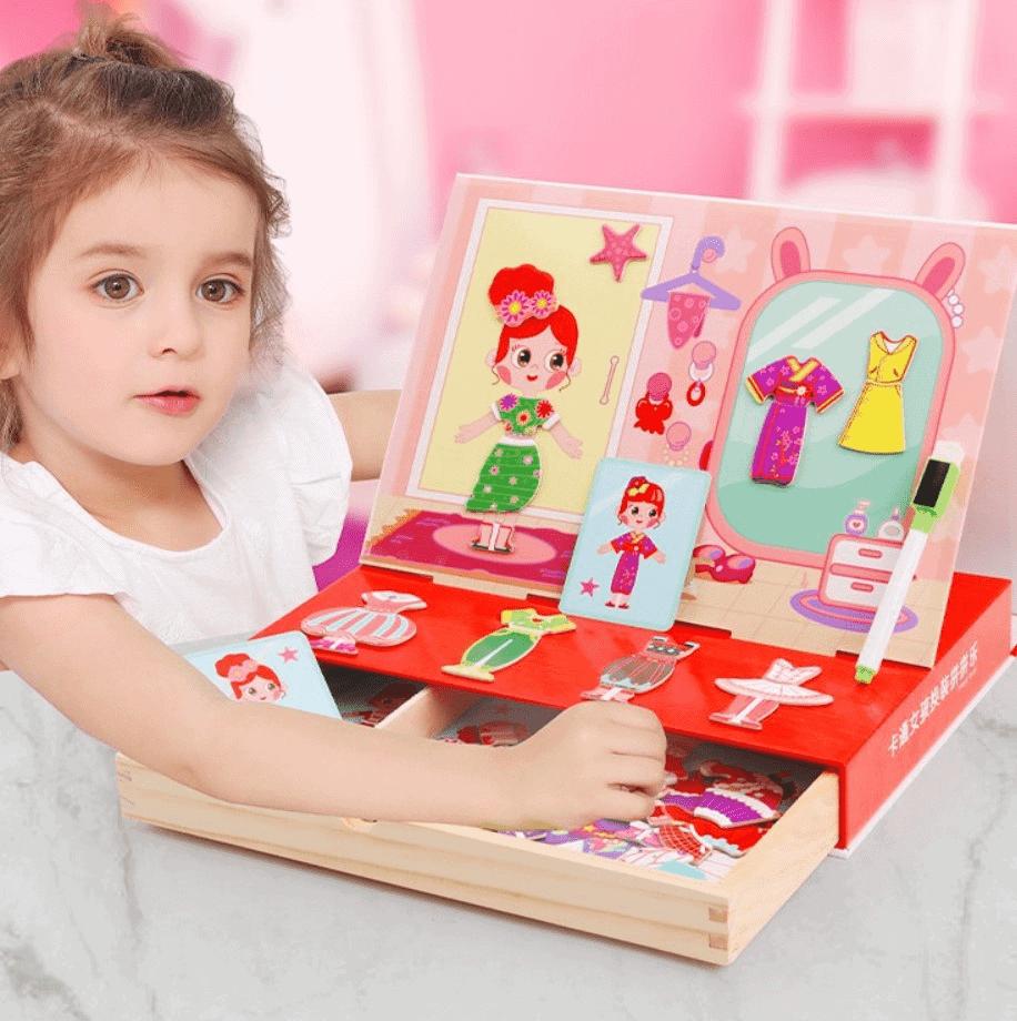 Bộ đồ chơi thông minh thiết kế và ghép hình thời trangsáng tạo