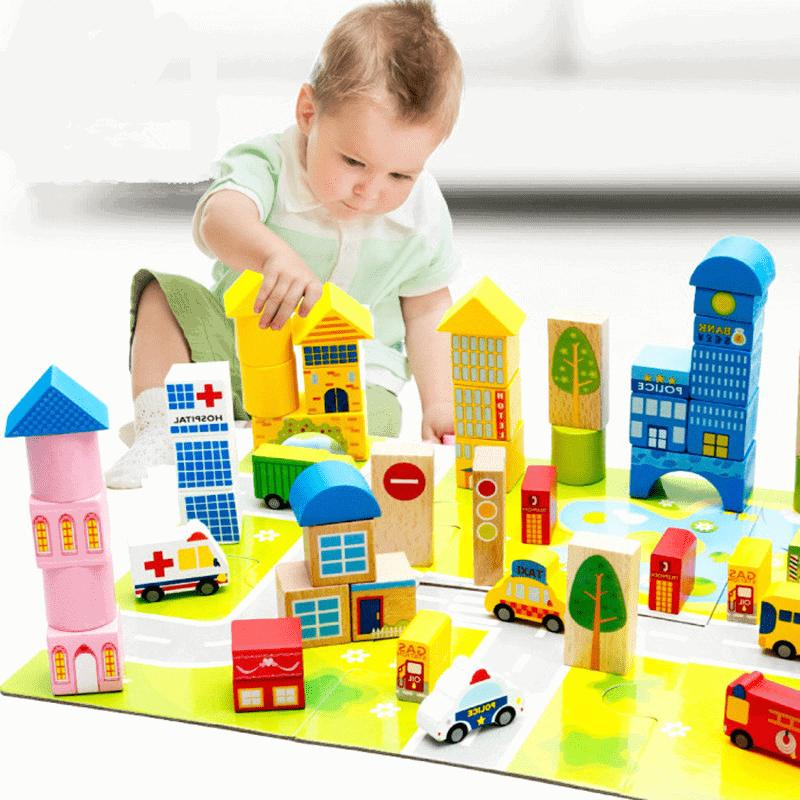 Bộ đồ chơi lắp ghép hoạt động mỗi ngày của bé