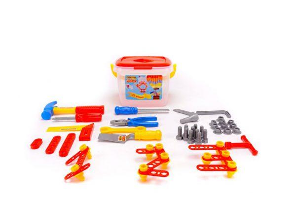 Dụng cụ kỹ thuật đồ chơi nhập vai cho bé