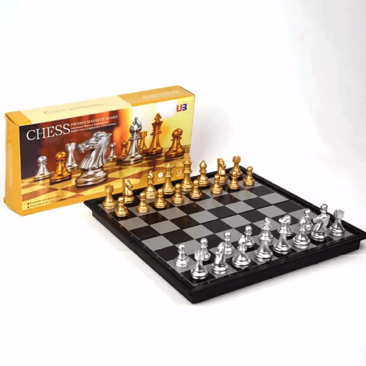 Đồ chơi cờ vua nam châm rèn luyện tư duy
