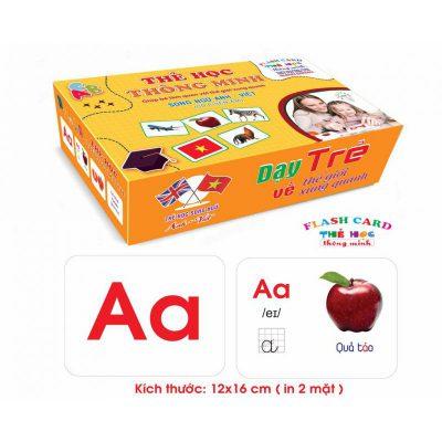 Bộ thẻ học tiếng Việt thông minh
