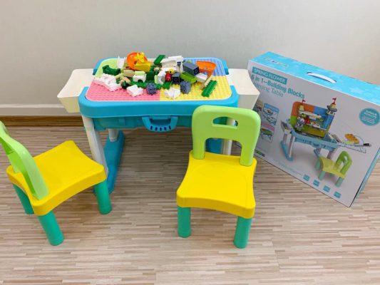 bàn xếp lego đa năng
