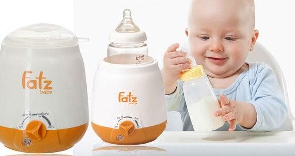 Lưu ý khi sử dụng máy hâm sữa Fatz