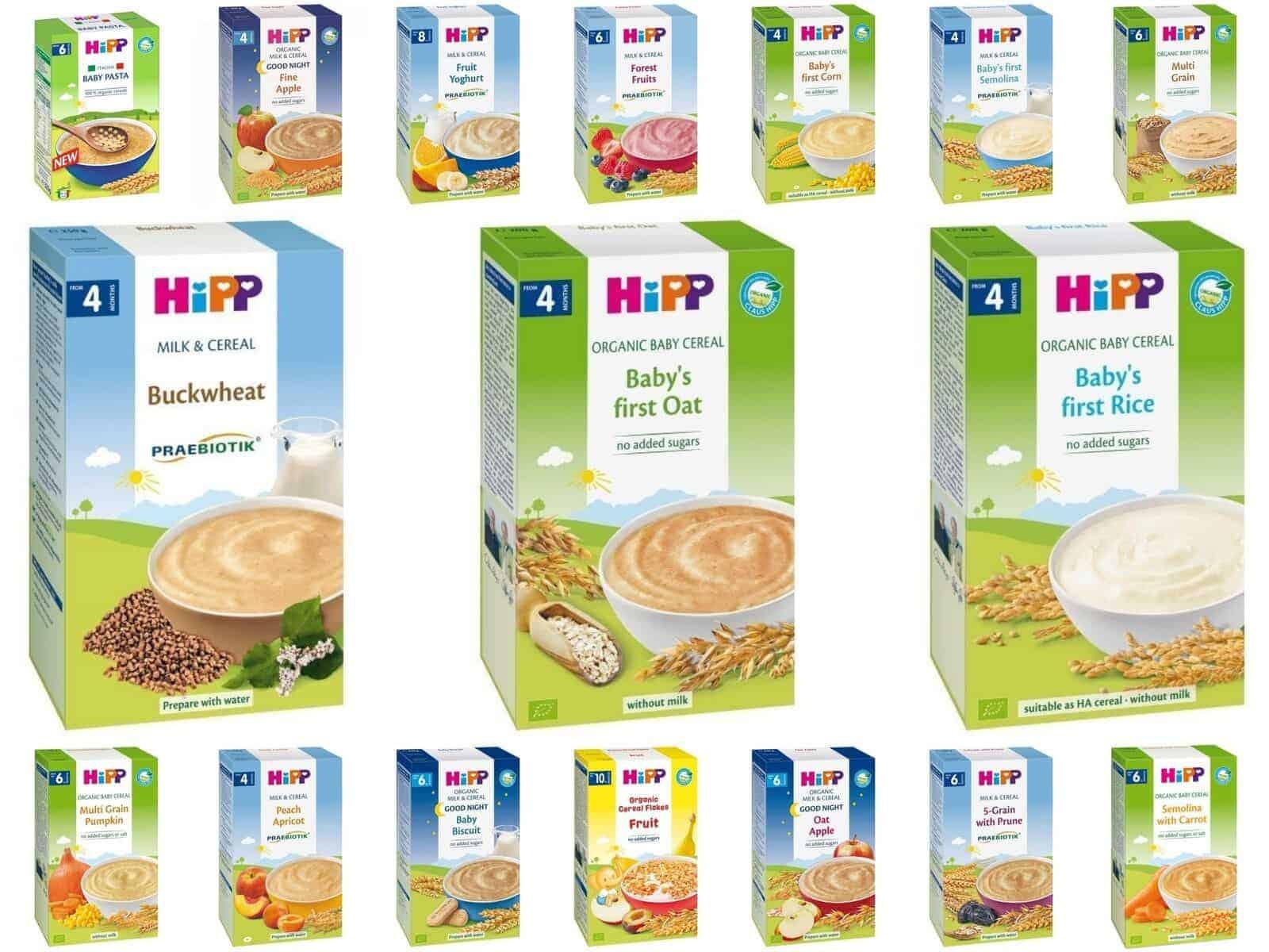 Cách pha bột Hipp cho trẻ 4 tháng tuổi