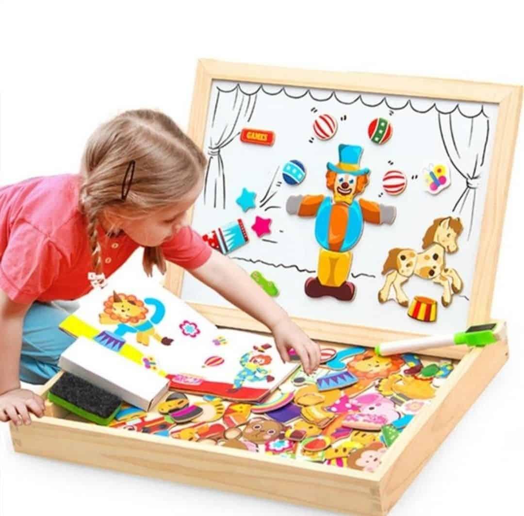 Bộ xếp hình cho bé thỏa sức sáng tạo