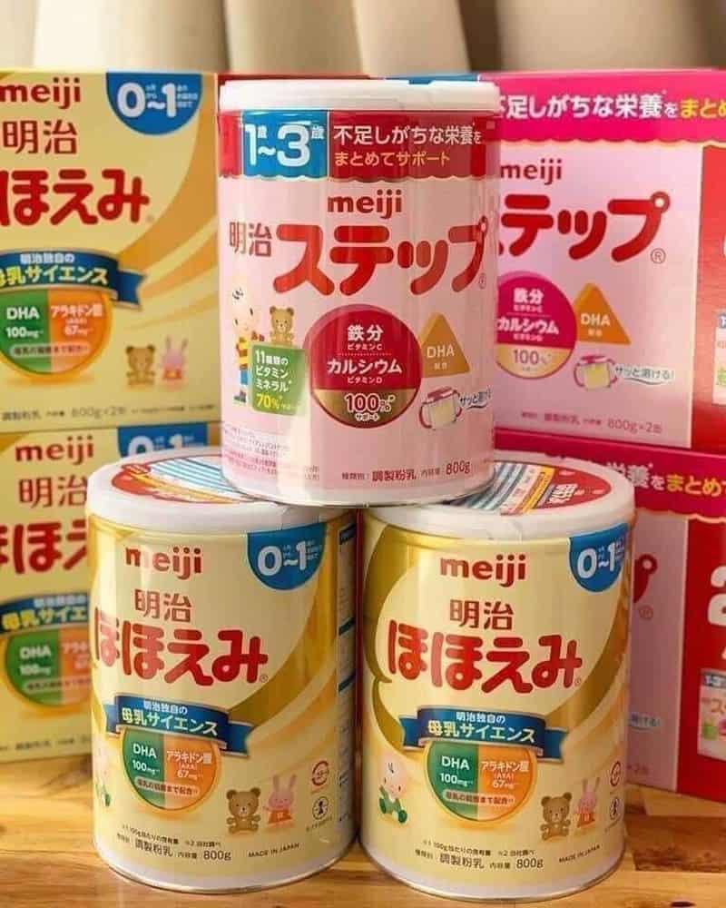 Sữa Meiji nhập khẩu có tốt không