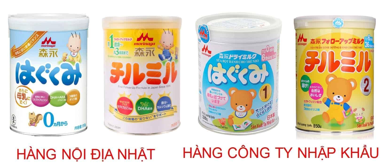 sữa morinaga nhập khẩu có tốt không
