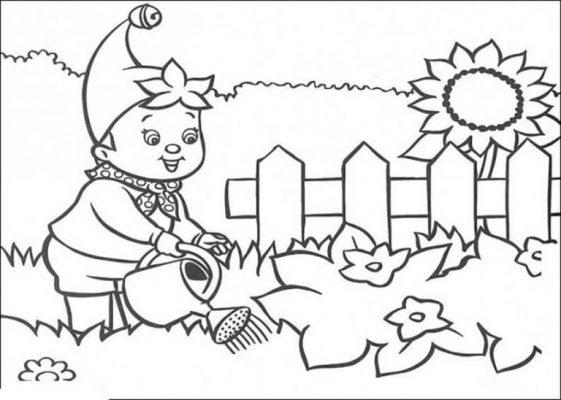 Tranh tô cho bé 4-5 tuổi