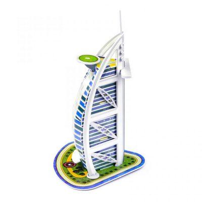 Mô Hình 3D Hình Tòa Tháp Kích Thích Sự Sáng Tạo