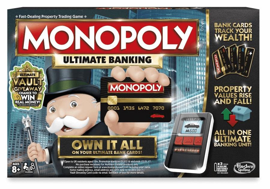 Đồ chơi cờ tỷ phú ngân hàng điện tử