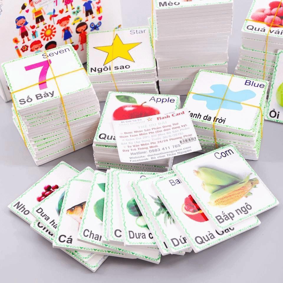 Bộ thẻ flash card học tiếng Anh