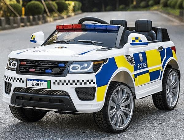 Ô tô điện trẻ em cảnh sát kiểu Mỹ US911B
