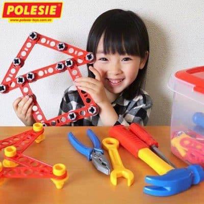 Bộ đồ chơi dụng cụ kỹ thuật 74 chi tiết cho bé