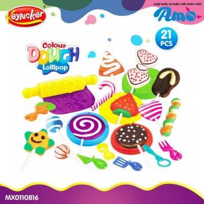 Đồ chơi đất nặn kẹo mút cho trẻ