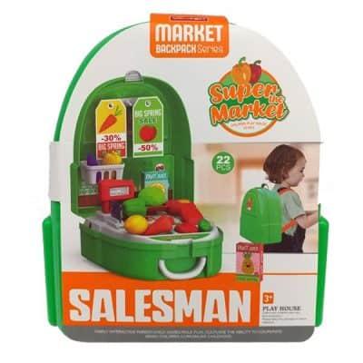 Đồ chơi nhập vai bán hàng vali tính tiền siêu thị