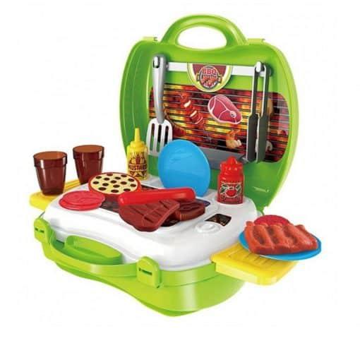 Đồ chơi nhập vai nấu ăn vali BBQ