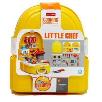 Đồ chơi nhập vai nấu ăn vali nhà bếp