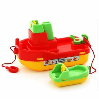 Bộ Mô Hình Tàu Thủy Kéo Mini
