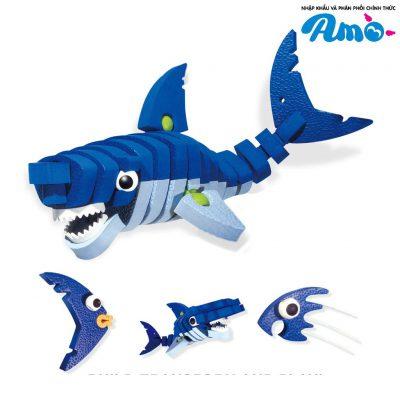 Bộ lắp rắp cá mập cho bé