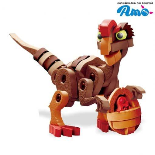 Lắp ráp khủng long 3D