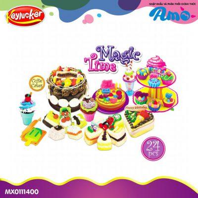Đồ chơi đất nặn bánh Cupcake cao cấp