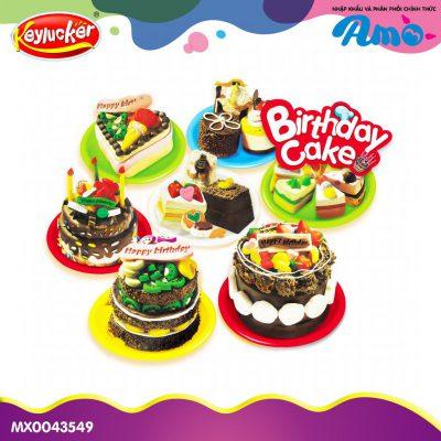 Đồ chơi đất nặn bánh sinh nhật cho bé